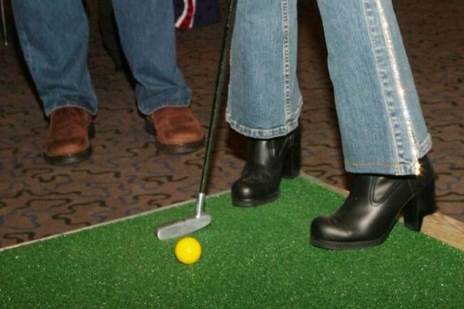 MOCA Becomes a Mini Golf Course. Plus: Donuts