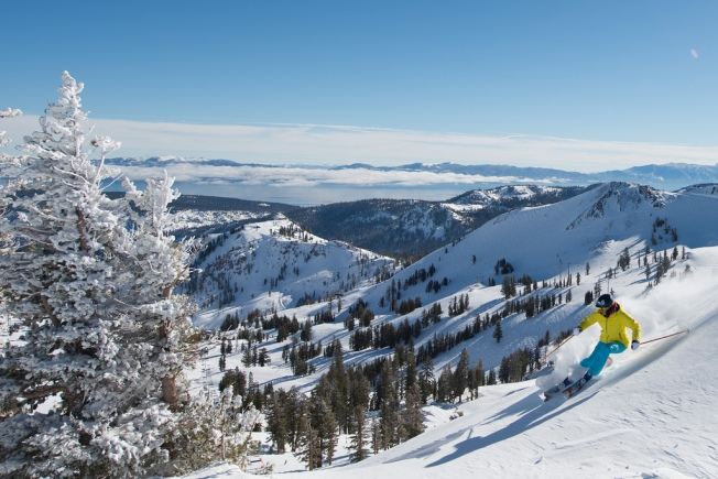 Come Ski Squaw Valley's Exciting Terrain