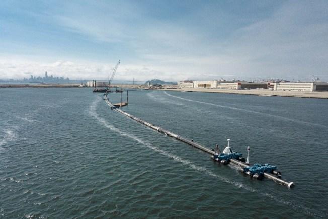 Massive Boom in Pacific Ocean Not Corralling Plastic Trash