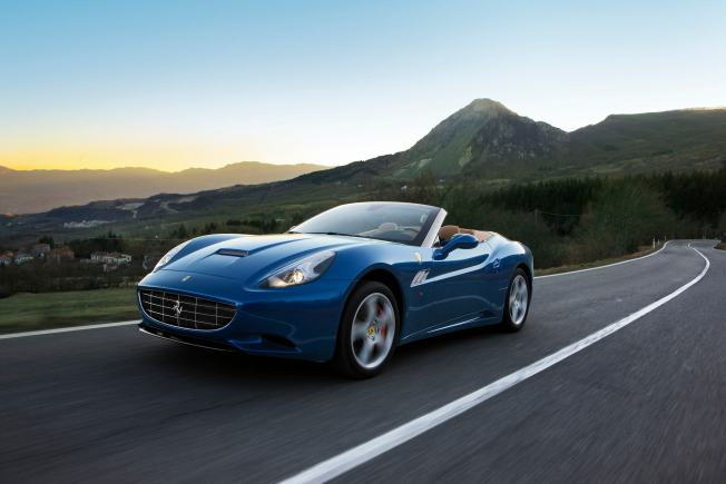 Ride in a Ferrari at the OC International Auto Show