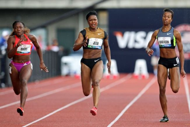 Southern California's Carmelita Jeter Bound for London Olympics in 100 Meters