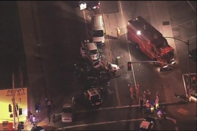 Fatal Four-Car Collision in San Bernardino - NBC Southern California