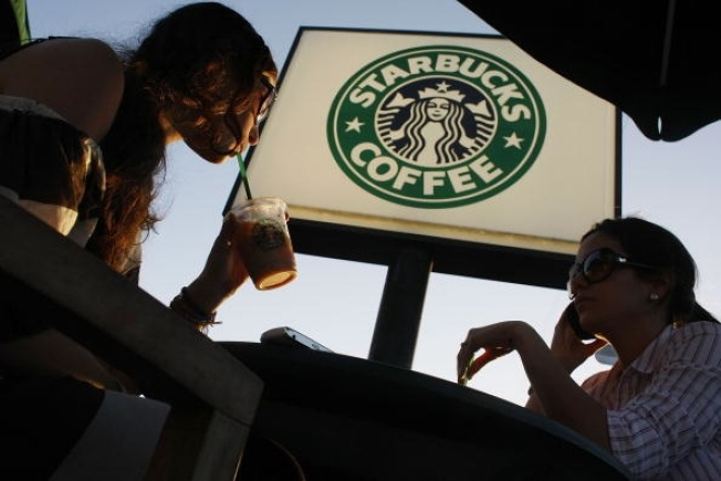 Starbucks Pop-Up Gets Brewing Early