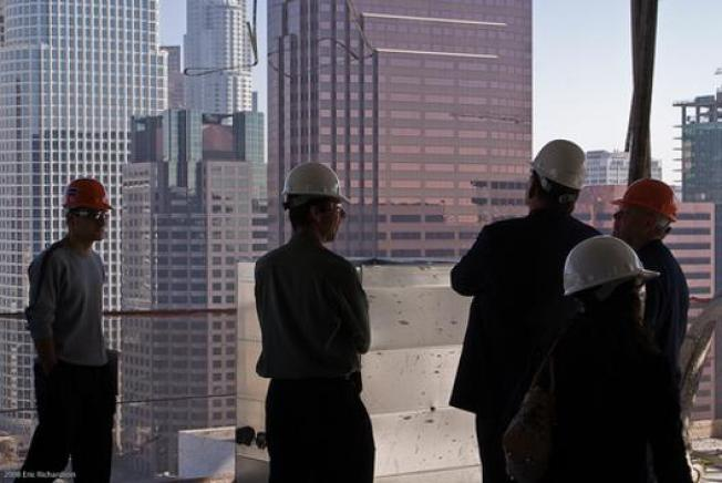 Nice Views: Ritz-Carlton's Steel Construction Tour