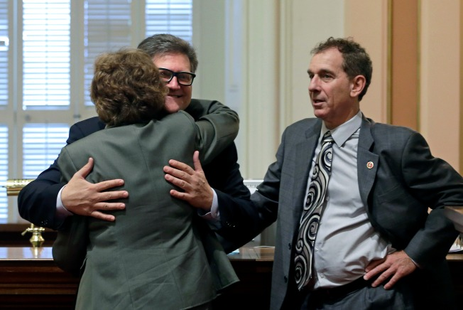 California Lawmaker Nicknamed 'Huggy Bear' Told to Stop Hugging People