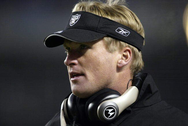 Jon Gruden on Raiders job: 'Nothing's official yet'