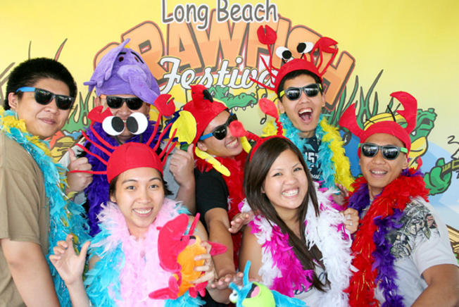 Hats Off, Er, On to Long Beach Crawfish Festival