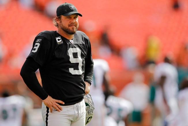 Raiders May Let Lechler Walk