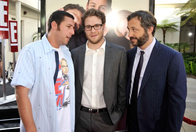 "A Life In Comedy Leads Judd Apatow To ""Funny People"""