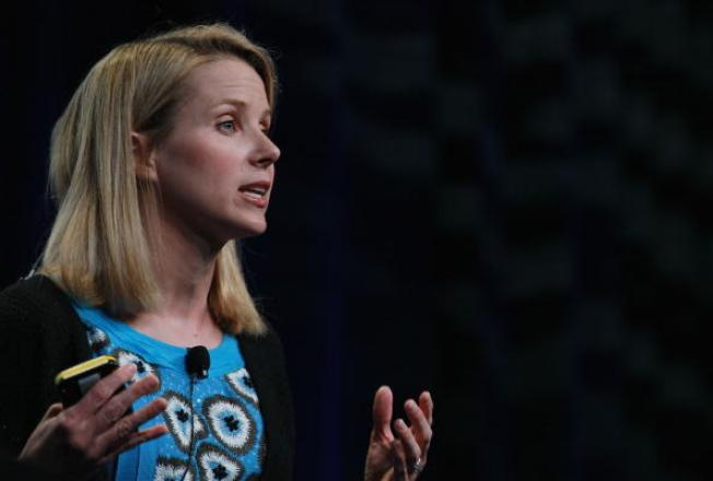"""Yahoo CEO/Mom Mayer up for Time """"Person of the Year"""""""
