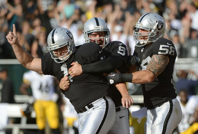 First Victory is a Kick for Raiders