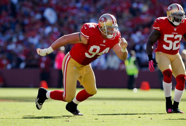 Justin Smith's Return Has 49ers Optimistic