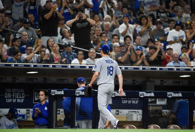 Kenta Maeda Strikes Out Nine, as Dodgers Defeat Padres, 4-2