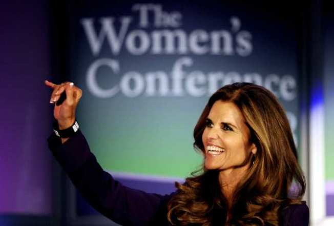 Maria Shriver Hosts 3-day Women's Conference