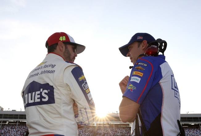 NASCAR:Jimmie Johnson, Chad Knaus to Split After 17 Years