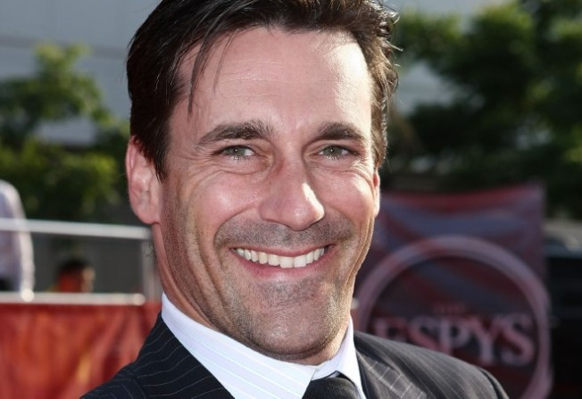 From the Fanning Ourselves Dept.: Helloooo, Jon Hamm!