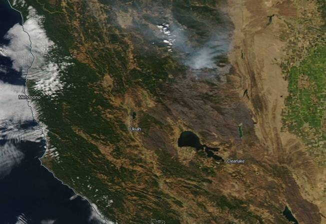 [NATL-LA GALLERY UPDATED 9/3] Smoke and Fire From Space: Wildfire Images From NASA Satellites