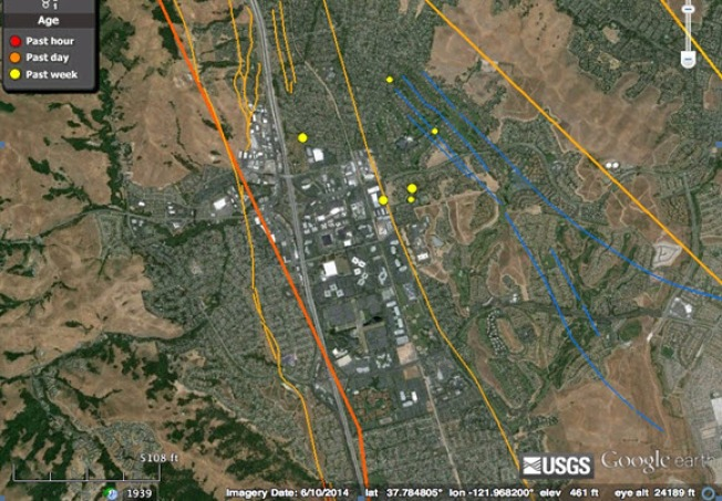 SAN FRANCISCO BAY AREA EARTHQUAKES