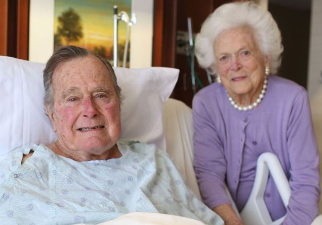 George H.W. Bush Leaving ICU, Barbara Out of Hospital
