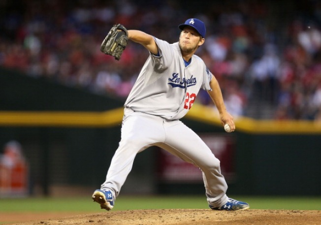 After 19 Scoreless Innings, Dodgers' Ace Gives Up a Run