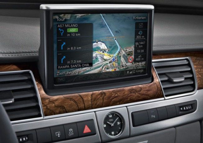 Audi A8 Adds Google Earth to Its Nav System