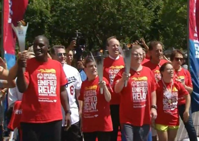 'Victory in Itself': Special Olympics Torch Journeys Through SoCal