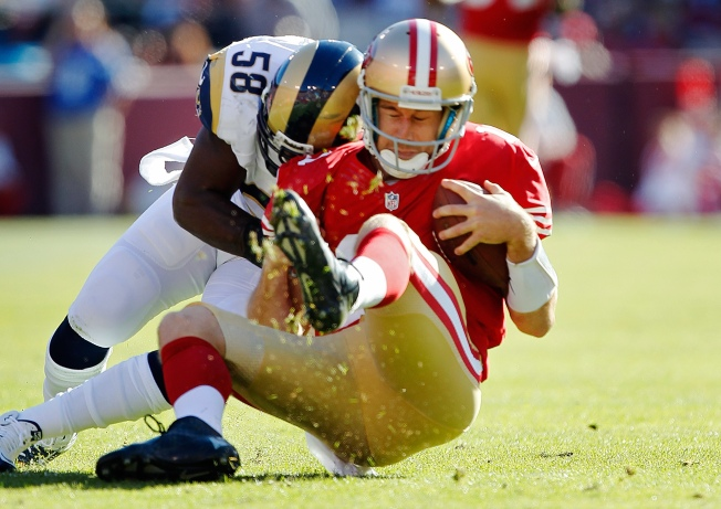 Wild 49ers Rams Game Ends in Tie