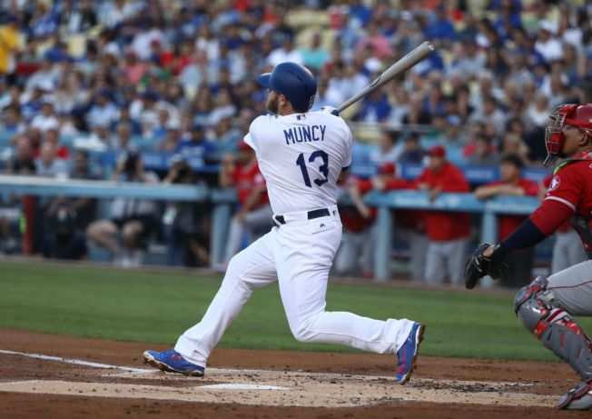 Max Muncy Knocks in 3 Runs as Dodgers Rally to Beat the Angels in Freeway Series