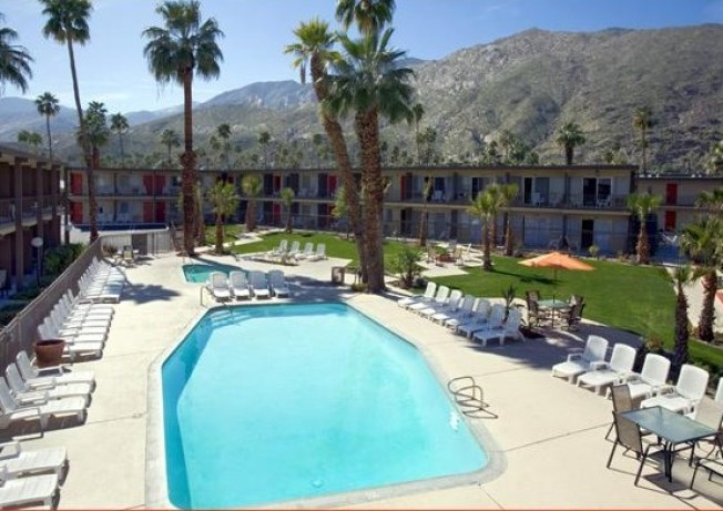Worth the Drive: Pool Views at Classic Desert Motel
