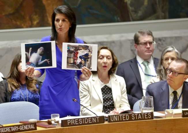 Nikki Haley: We Don't See Peace in Syria With Assad