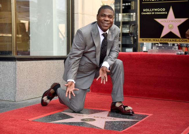 Former 'Saturday Night Live,' '30 Rock' Actor Tracy Morgan Gets a Walk of Fame Star