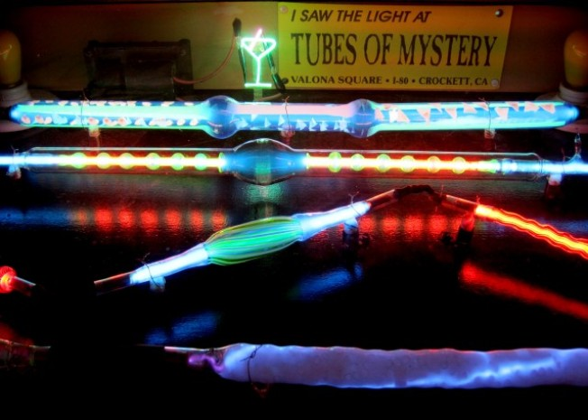 Experience the Tubes of Mystery