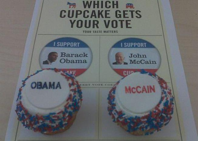 Election Night: Obama Leads in Food/Drink Polls