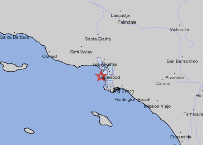 Early Morning Magnitude-2.8 Earthquake Rattles South Bay