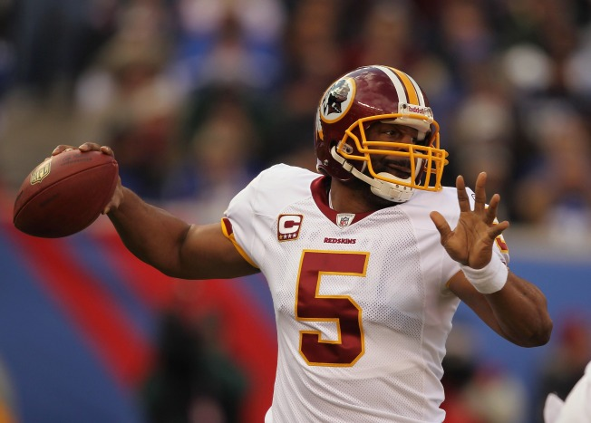 Report: McNabb Benched, Chaos in the Capitol!
