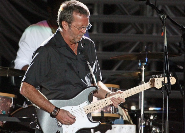 Eric Clapton Auctions Guitars, Amps (Talent Not Included)