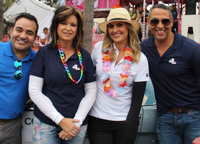 NBC4 Supports LA Pride Parade in West Hollywood