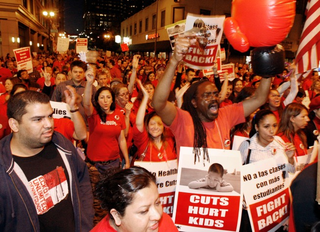 LAUSD to Consider 5,000 Layoffs