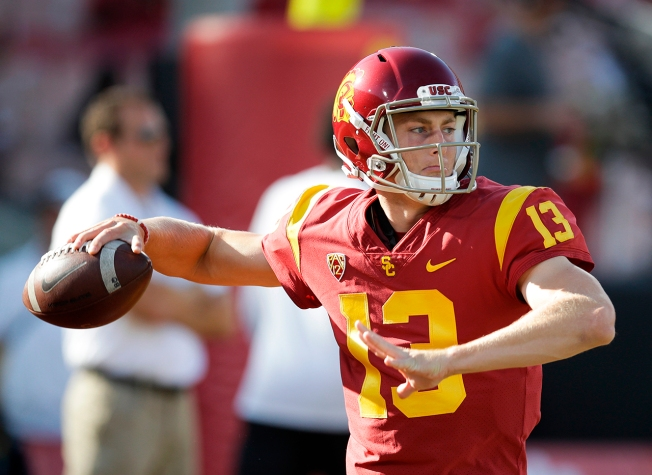 USC Spring Ends, But QB Competition Hasn't Really Started