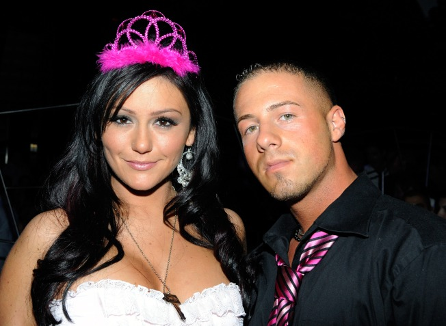 """Jersey Shore's"" J-Woww Splits with Boyfriend"