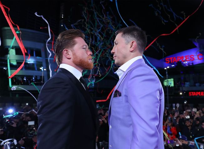 'Canelo' and 'GGG' Formally Announce Boxing Rematch