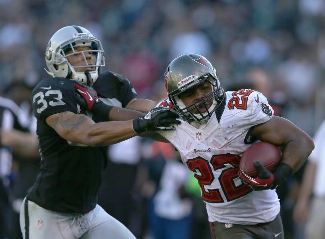 Raiders Get Run Over by Bucs' 'Muscle Hamster'