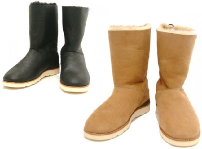 OMG! Japanese Designers Create Most Luxurious UGG Boots Ever!