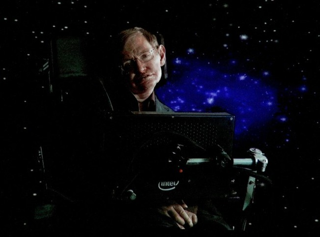 Tonight: Stephen Hawking at Caltech