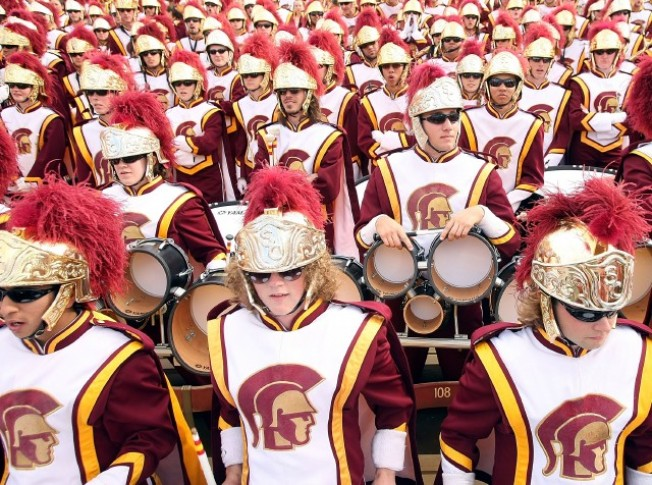 Worth the Drive: USC Marching Band on Catalina Island