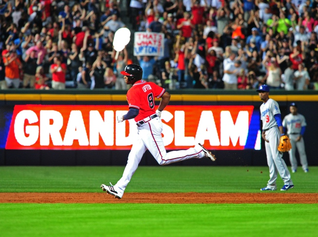 Braves' Grand Slam Too Much for Dodgers to Overcome