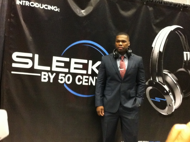 50 Cent @CES: Get Tech, or Die Tryin'