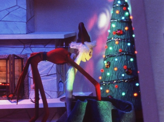 """The Nightmare Before Christmas"" on Christmas"