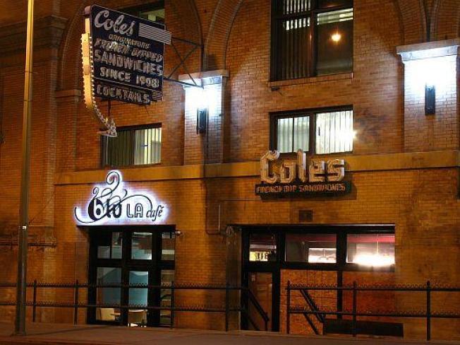 Blu LA Cafe NOT a Part of Cole's