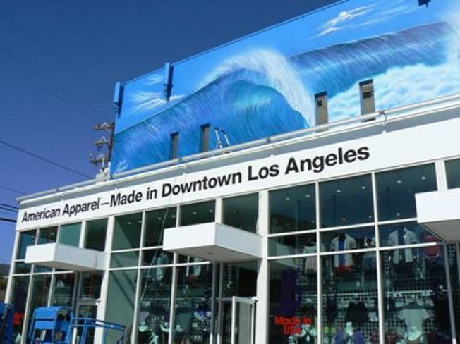 Now Open: American Apparel Malibu Taps Artist to Recreate Iconic Mural